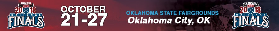 2018 USTRC National Finals of Team Roping, October 21-27, Oklahoma City, Oklahoma